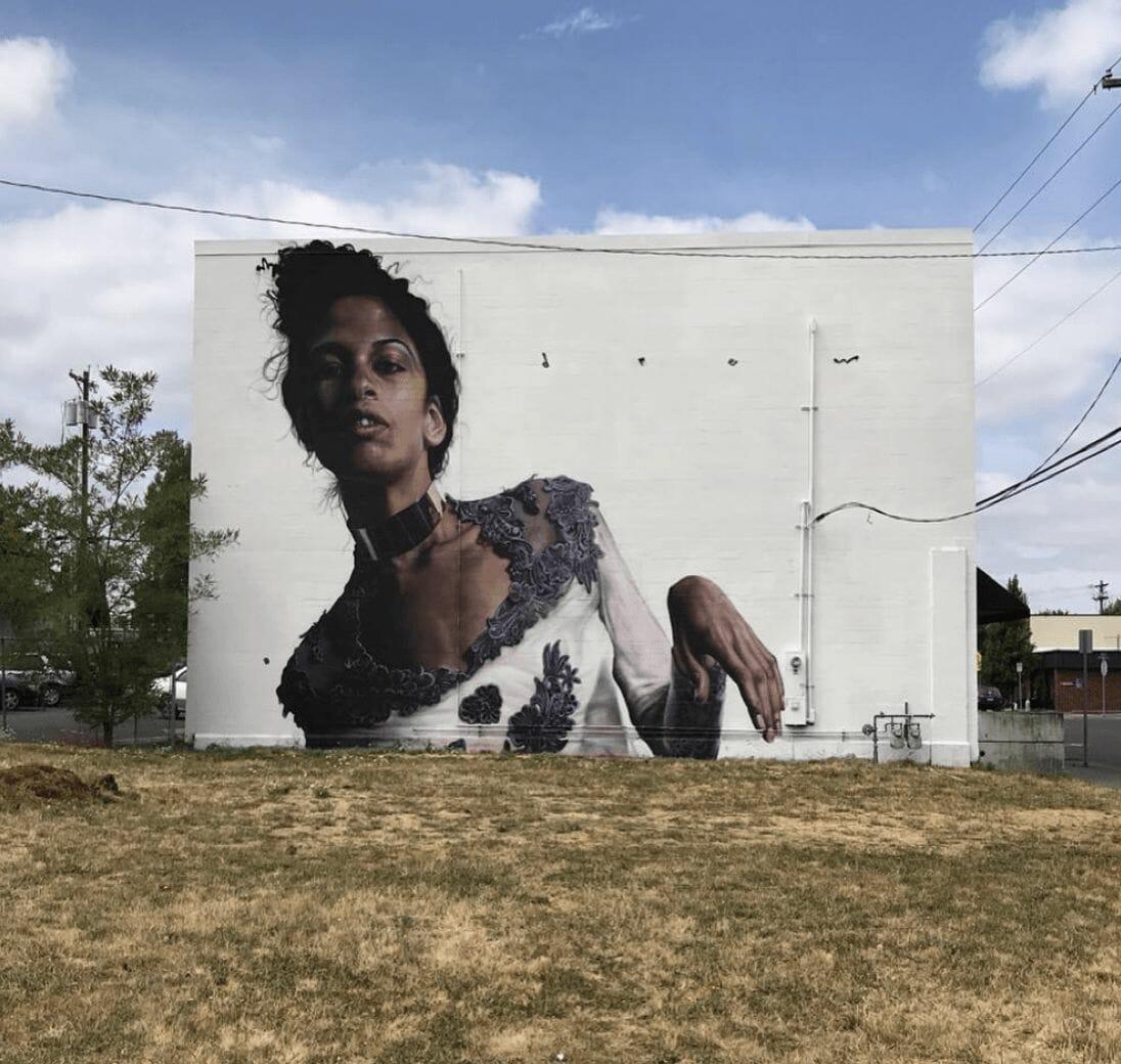 Drew Merritt immense murale