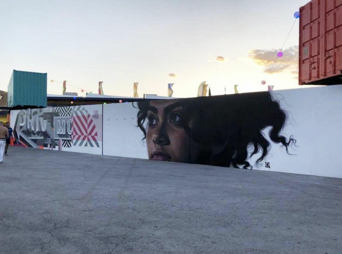 peinture murale par Drew Merritt