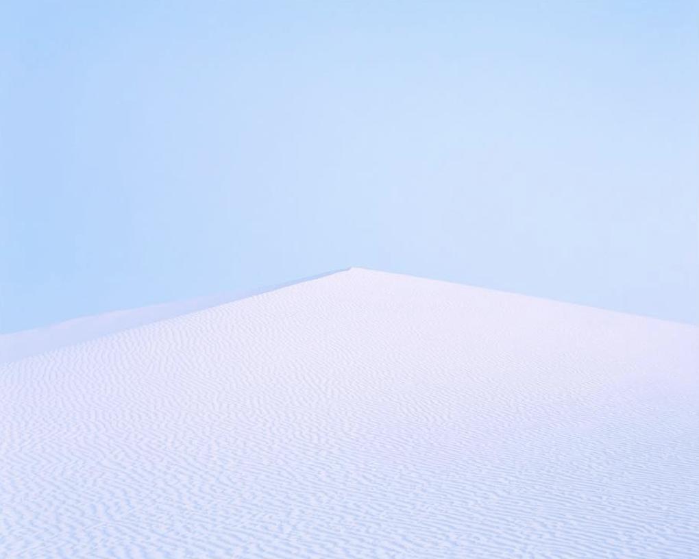 dune de sable blanc
