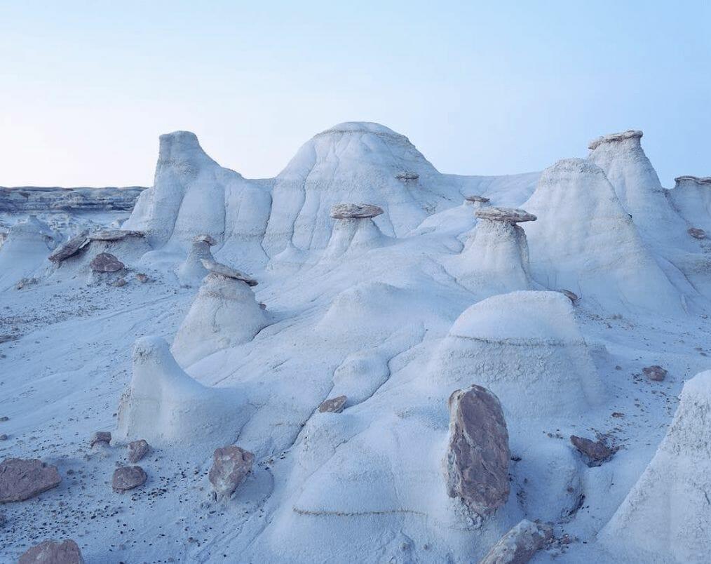 désert blanc parle photographe Luca Tombolini