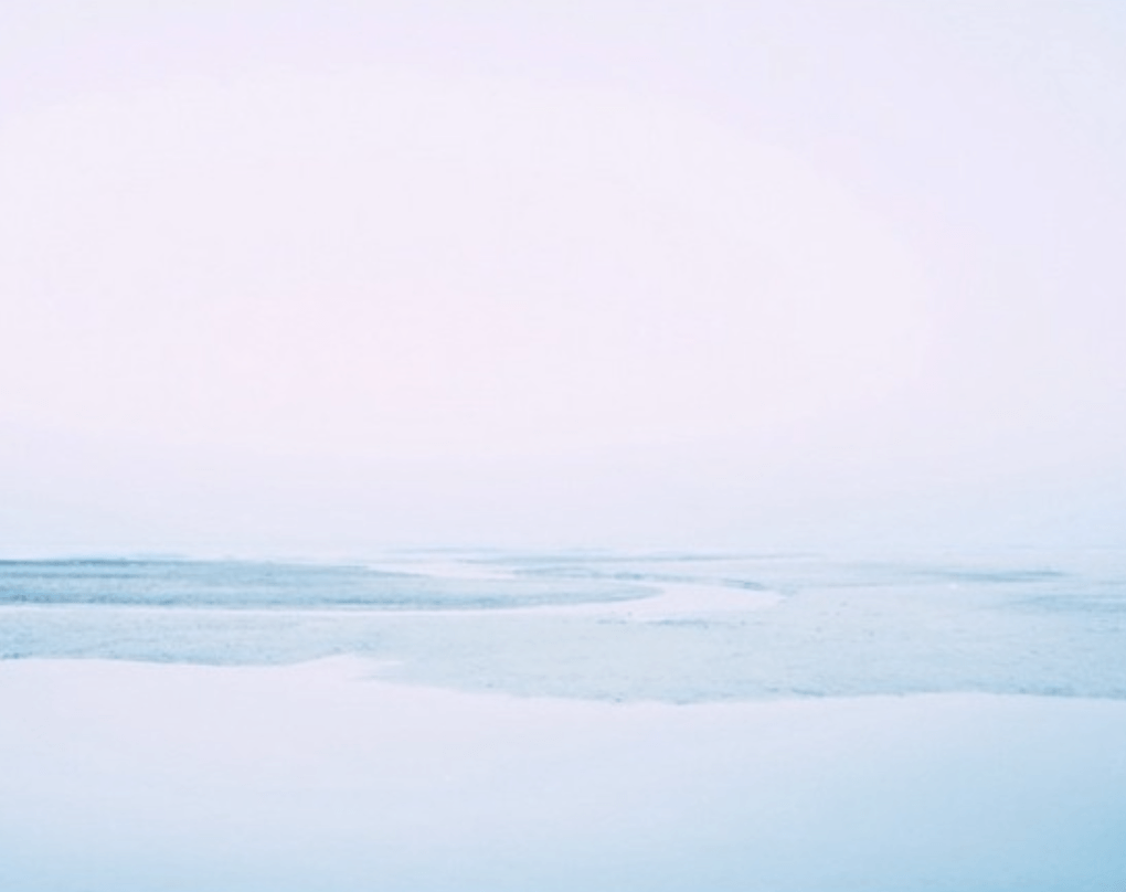 plage de glaçe
