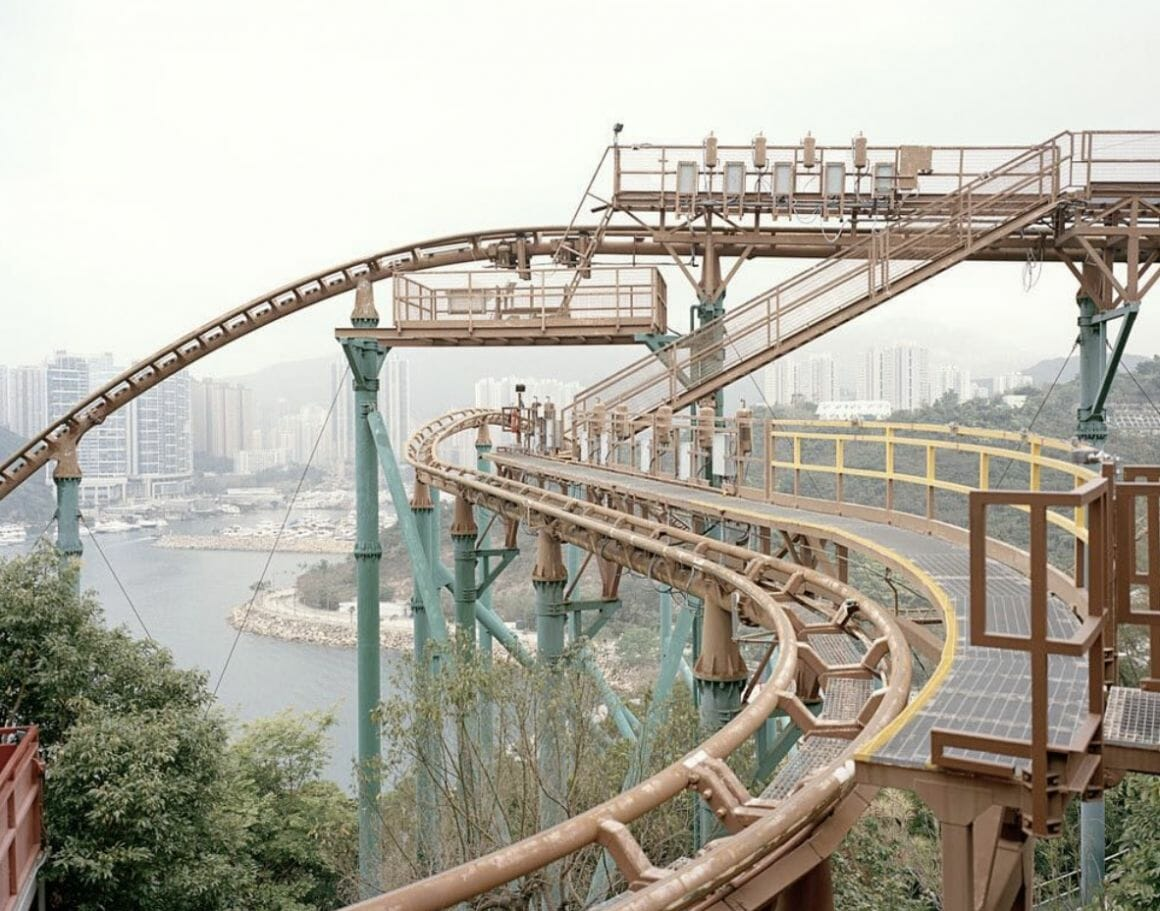 un parc à Hong Kong