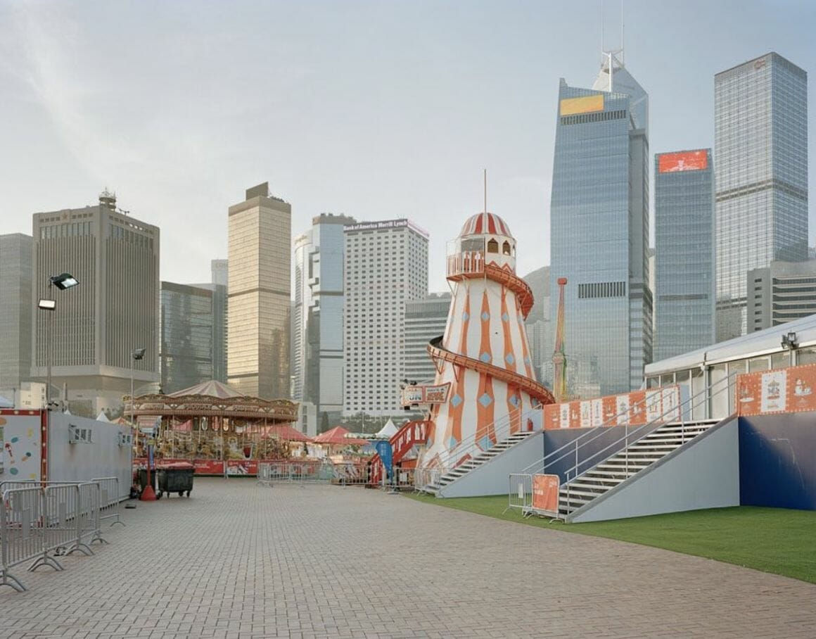 un parc au coeur de Hong Kong