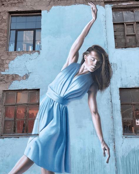 murale à kiev