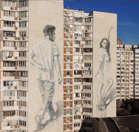 street art à kiev par Sasha Korban