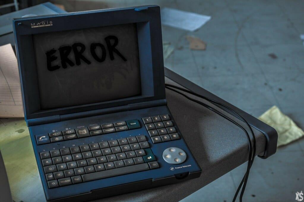 vieux ordinateur