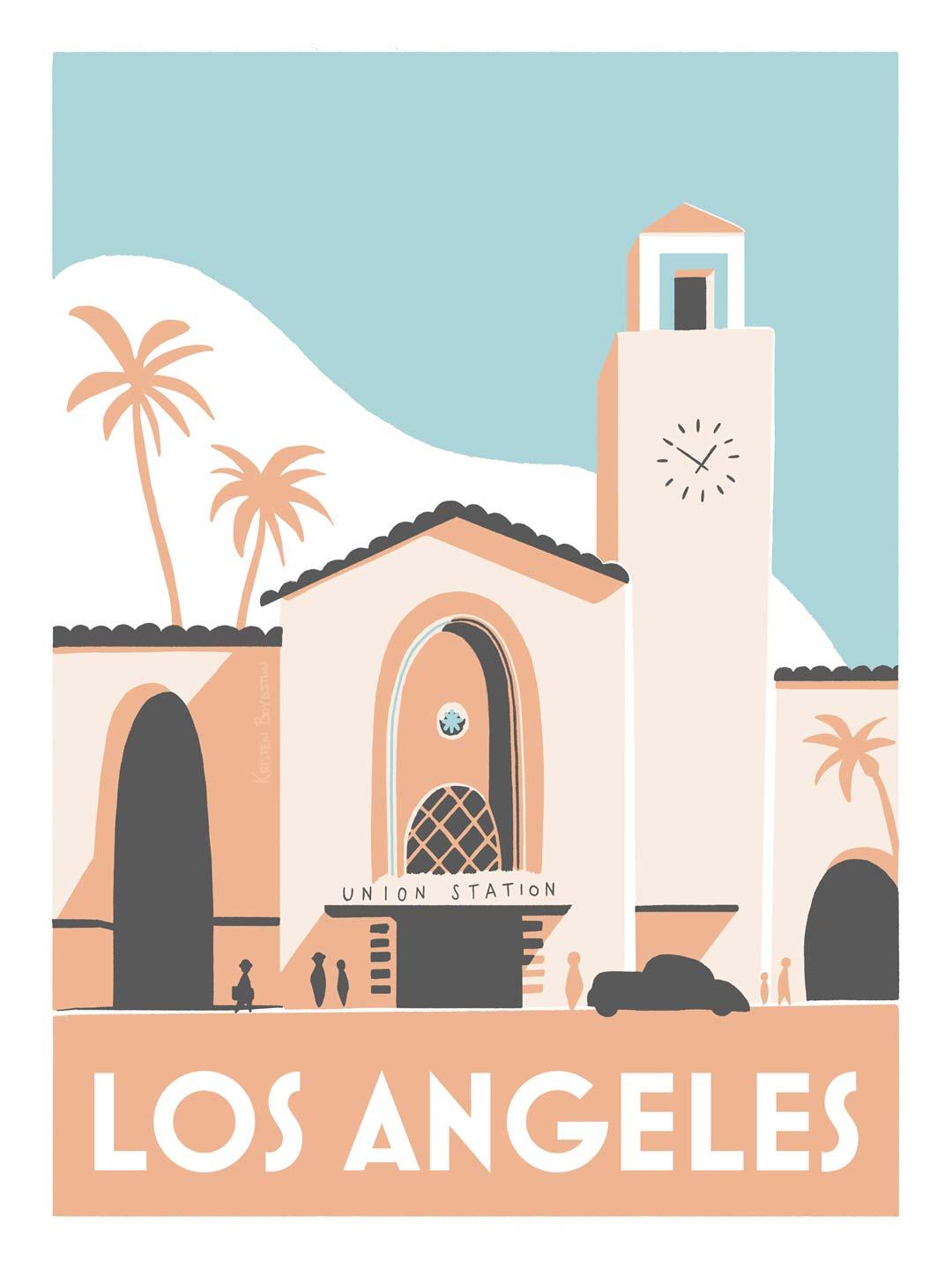 Illustration de Los Angeles