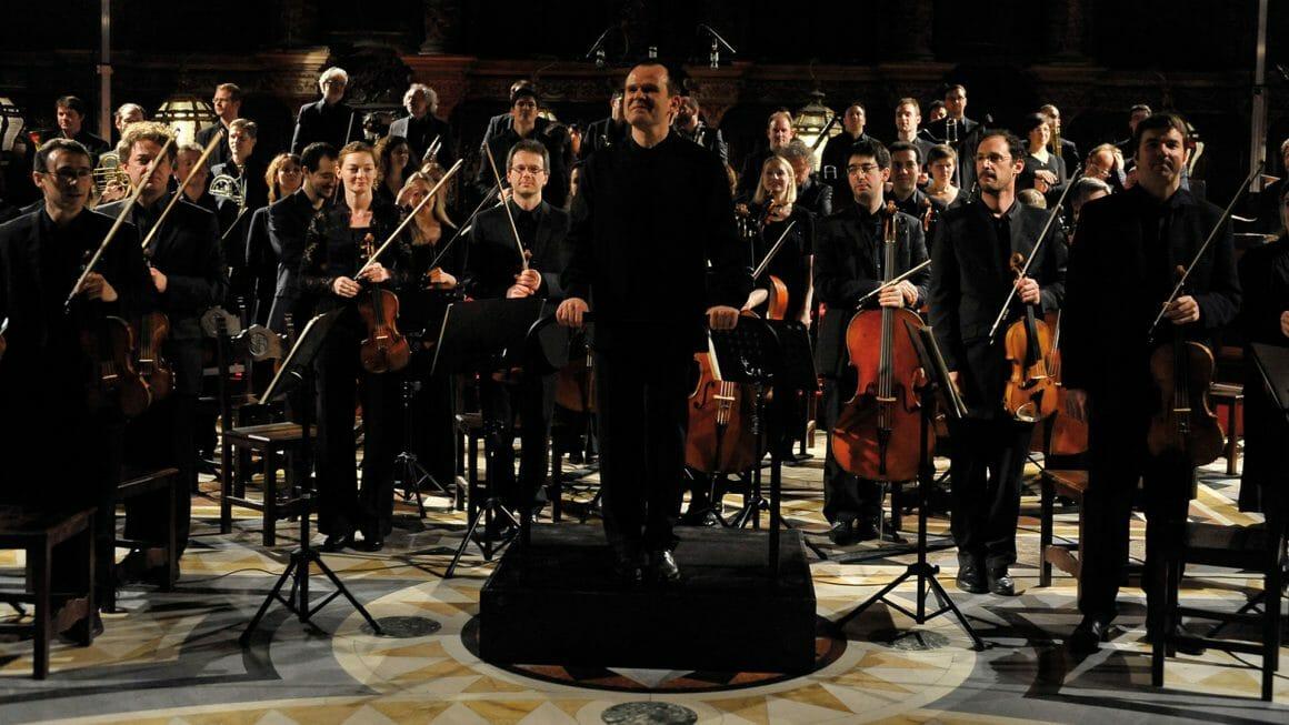 photo de l'orchestre Les Siècles en concert