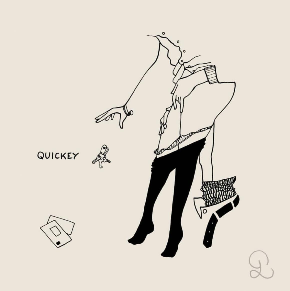 Quickey par Petites Luxures