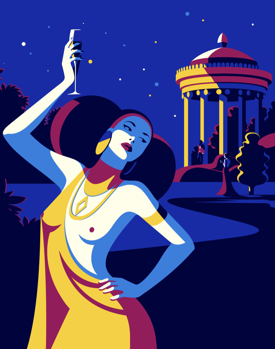 Salomé, illustration de Malika Favre
