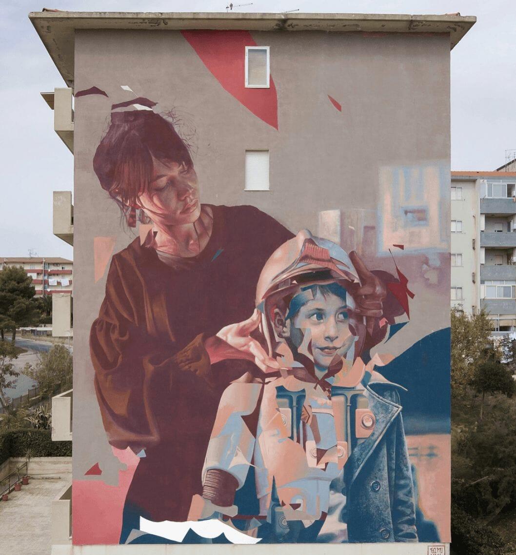 Peinture murale de Telmo Miel