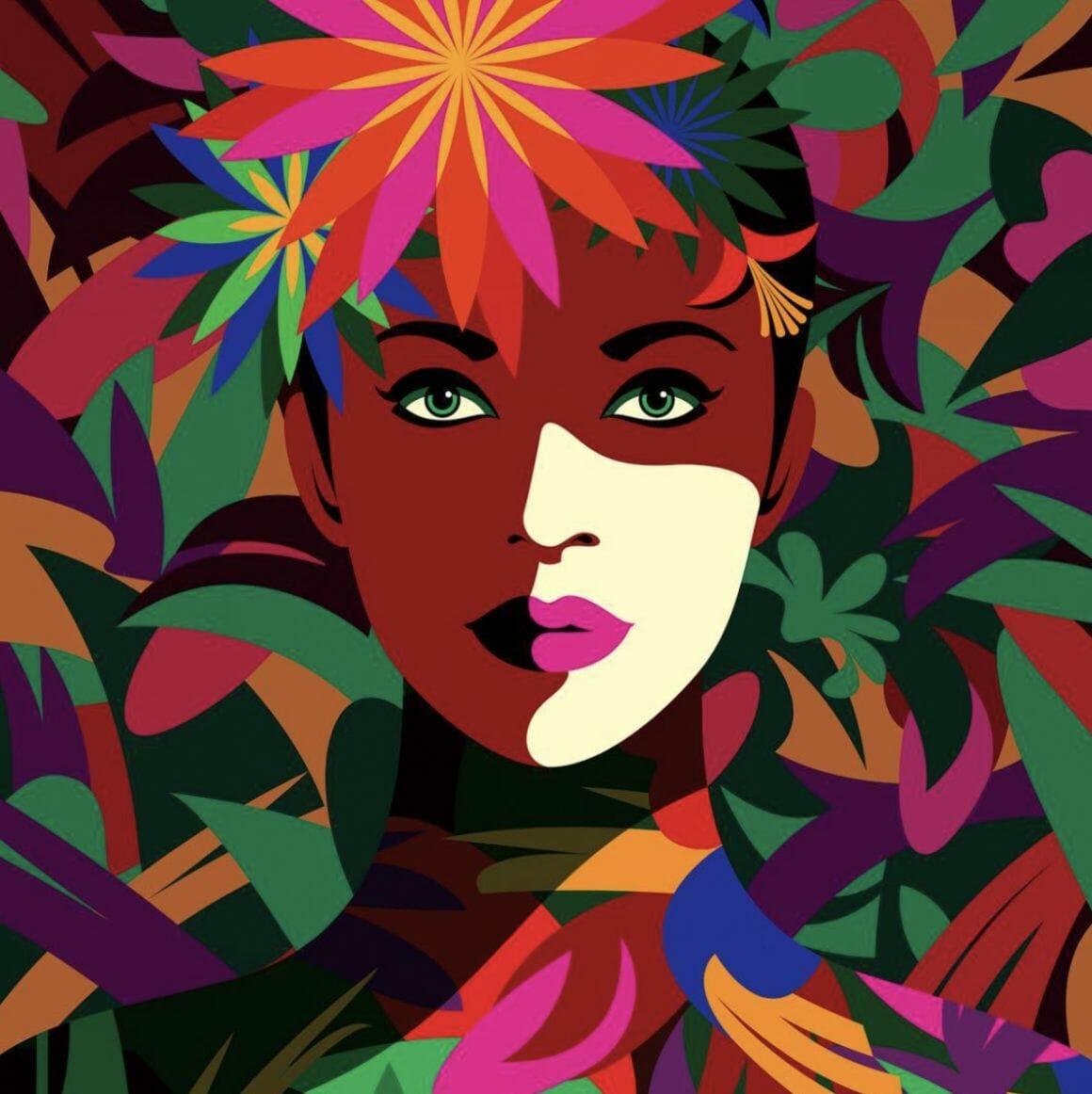 Spring to mind, illustration de Malika Favre