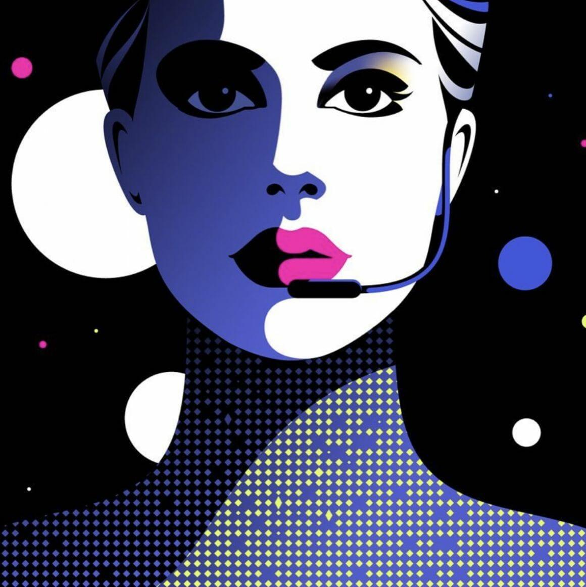Vox Lux, illustration de Malika Favre