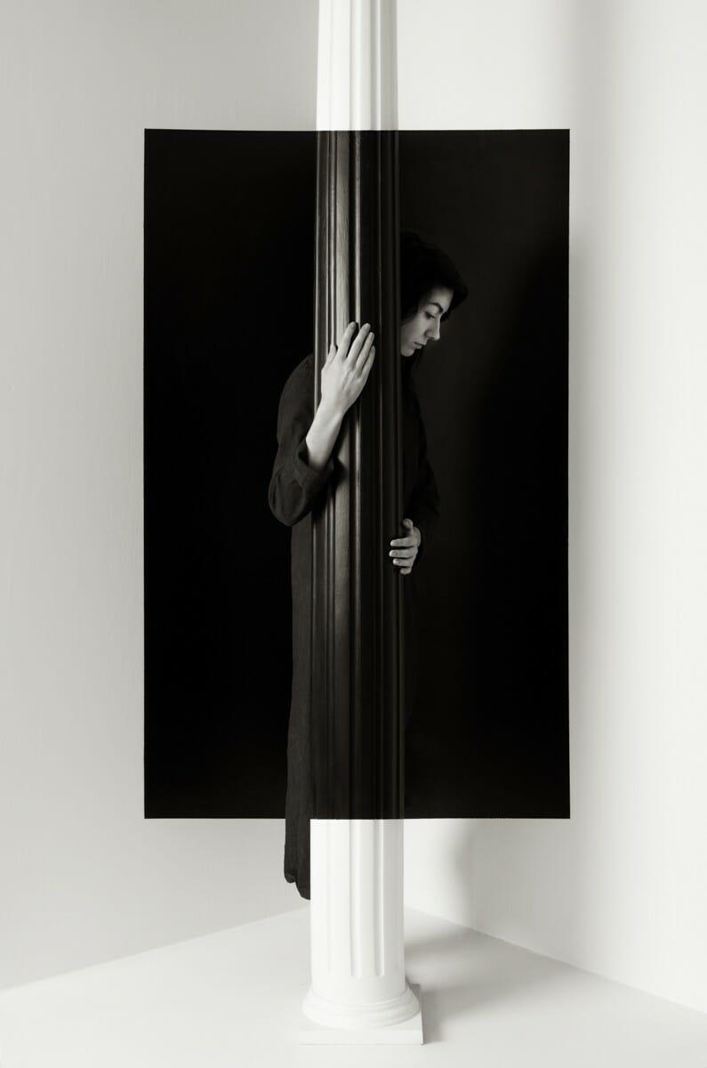 photo d'une modèle réalisée par John Dykstra