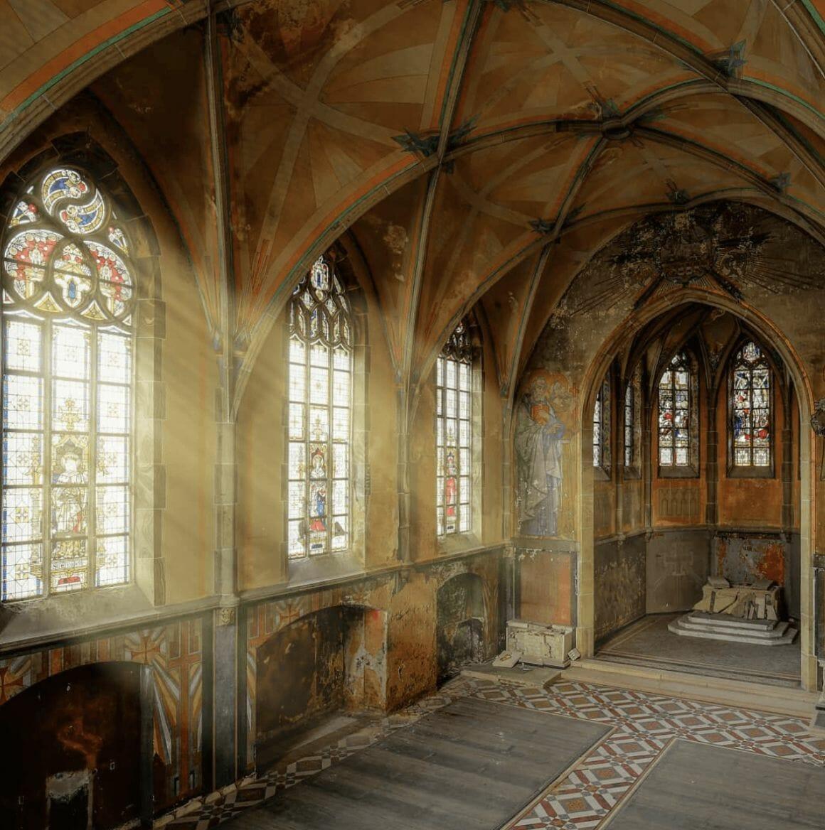 photographie d'une église prise par revierstrolch