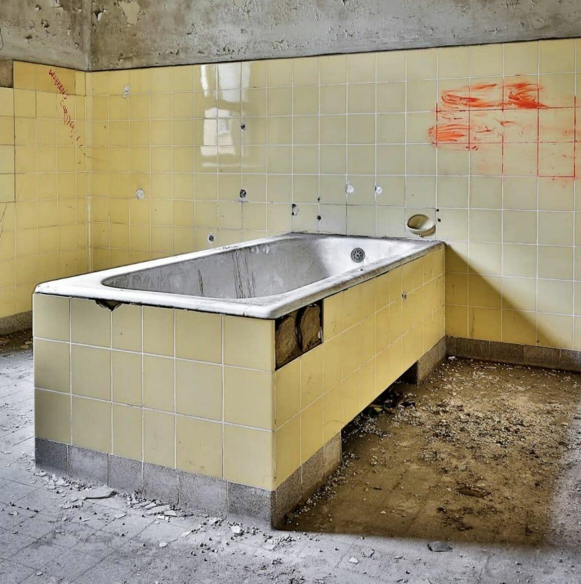 photographie d'un bain prise par revierstrolch