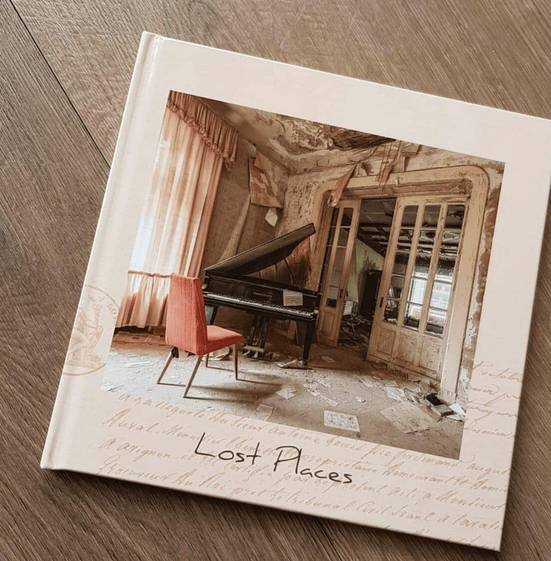 Livre regroupant les photographies de la série Lost Places de revierstrolch