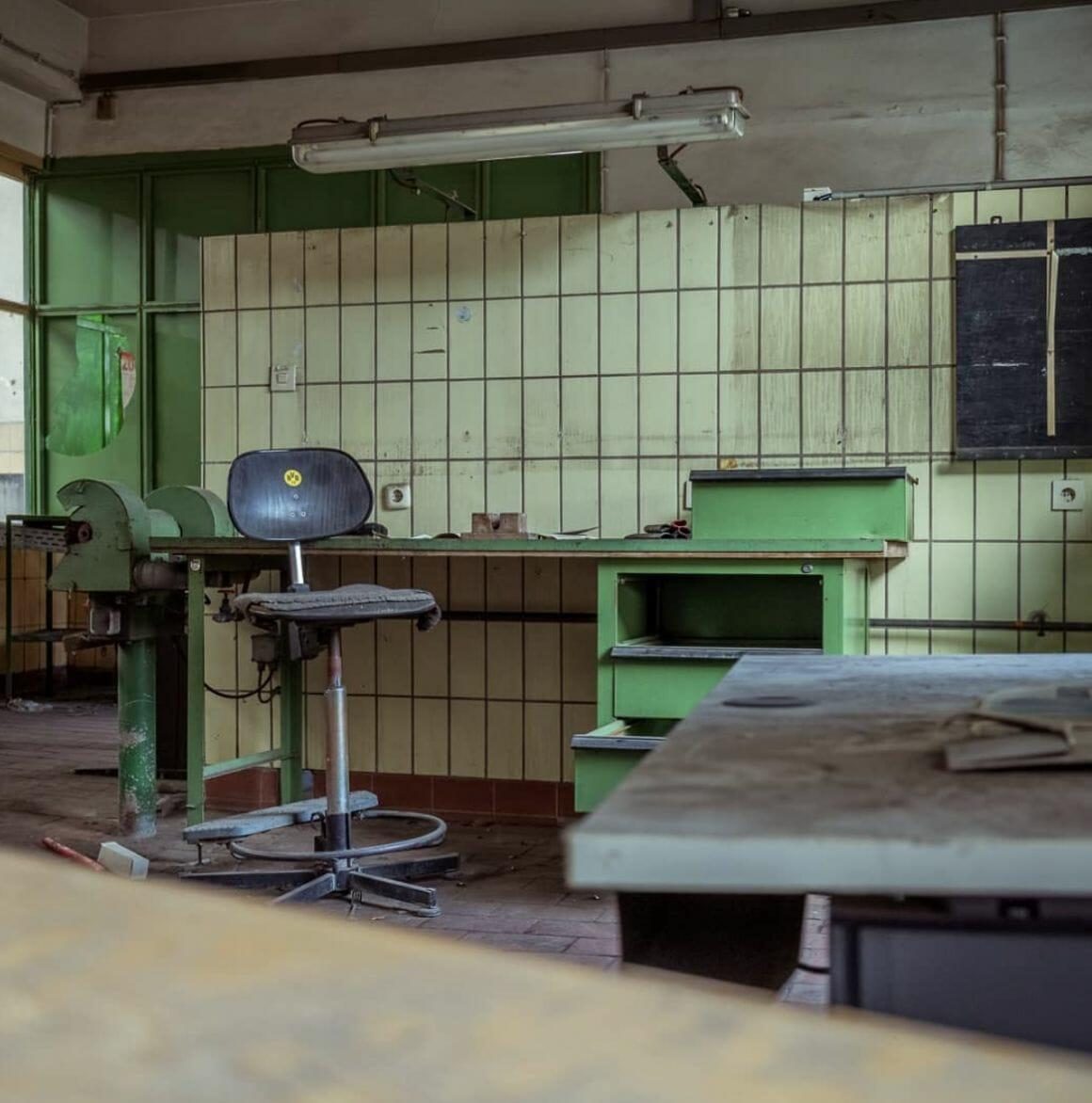 photographie d'un cabinet médical prise par revierstrolch