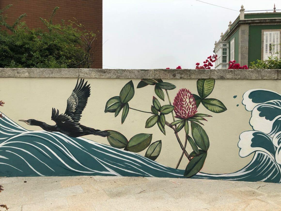 jolie murale Lula Goce