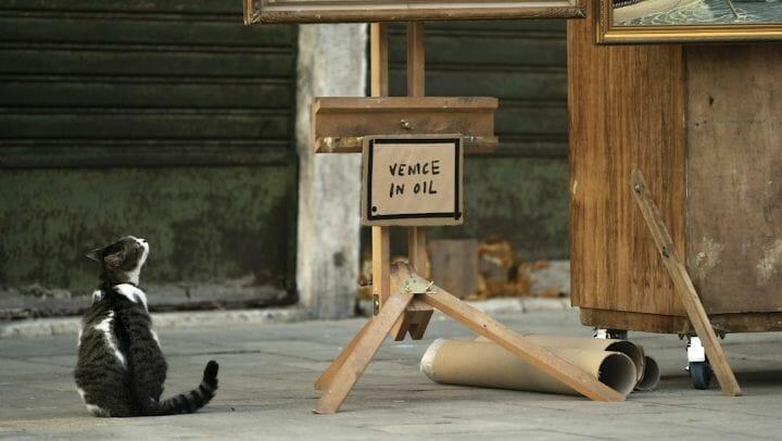 Non convié à la Biennale, Banksy s'invite à Venise pour dévoiler une nouvelle œuvre 2