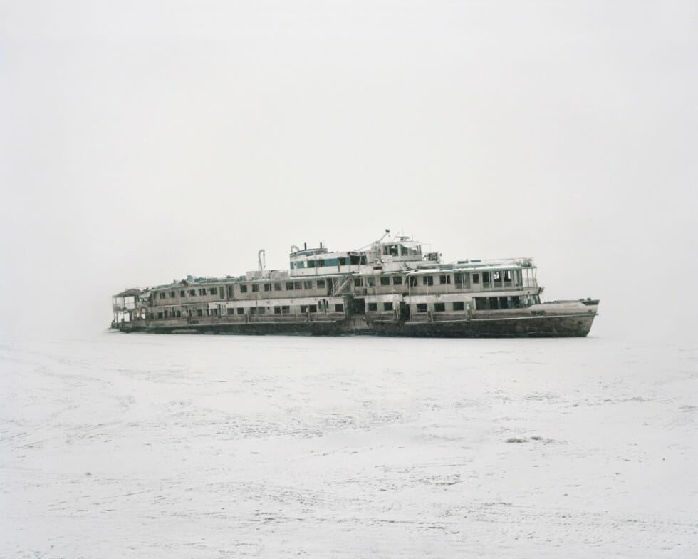 Épave de bateau soviétique -photographe Danila Tkachenko