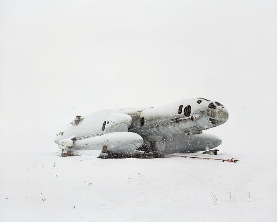 épave d'avion soviétique