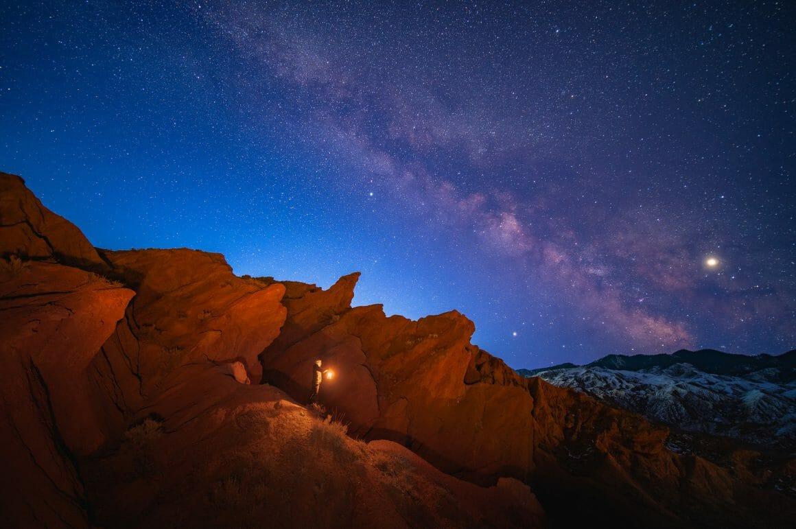 photo de canyons au Kyrgyzstan