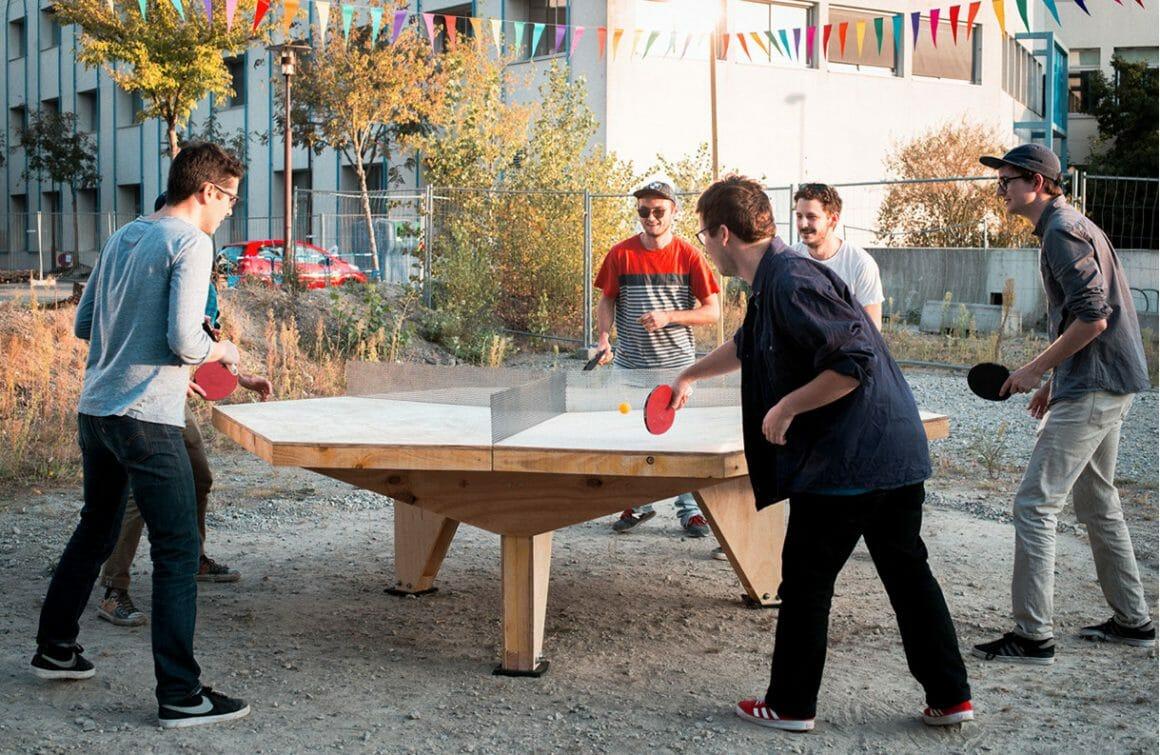 table de ping pong multi joueur