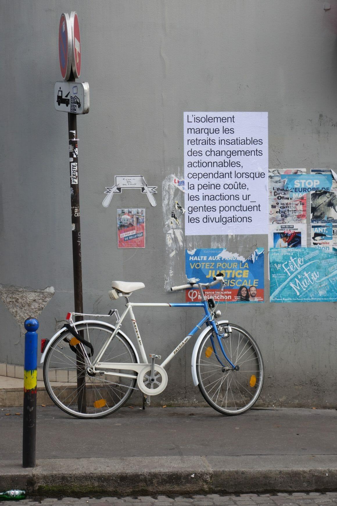 Affiche Guillemet et Lacotte vélo