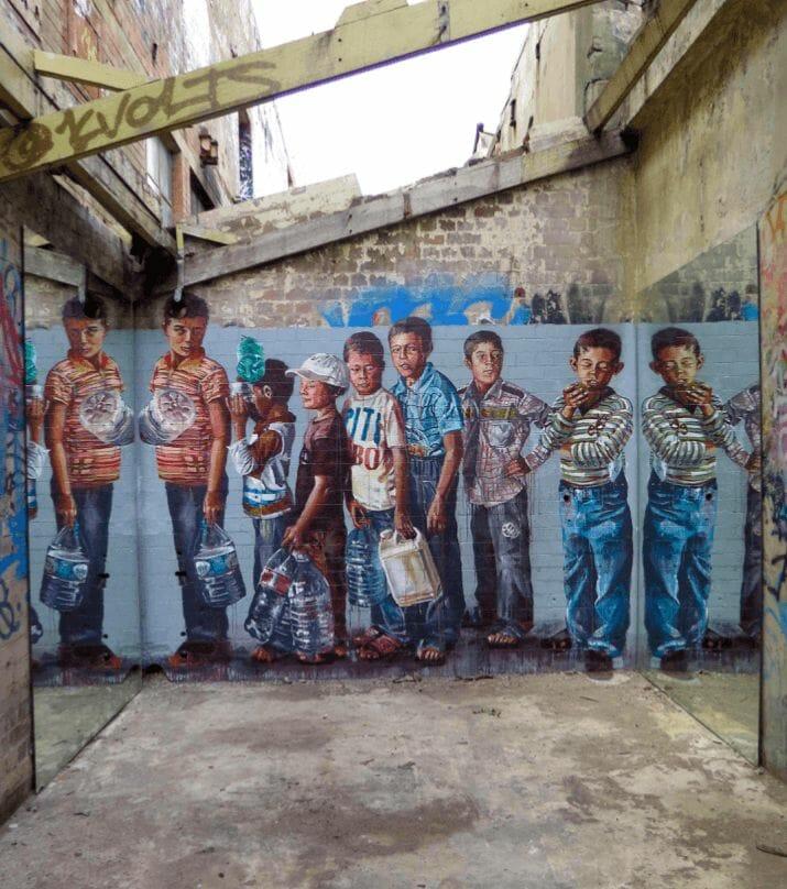 Fintan Magee murale