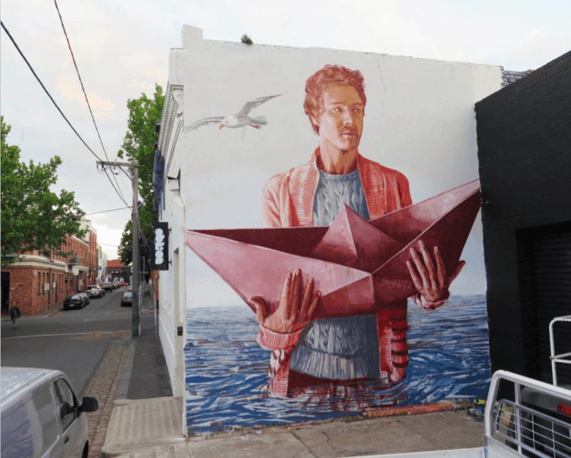 réchauffement climatique et street art