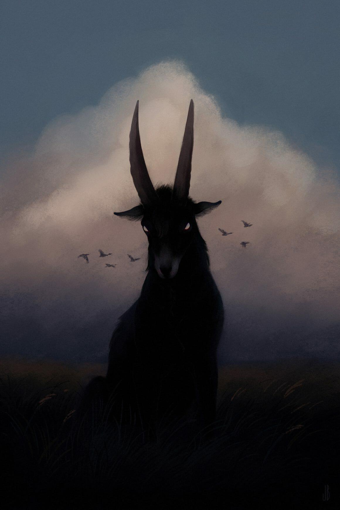 illustration de chèvre