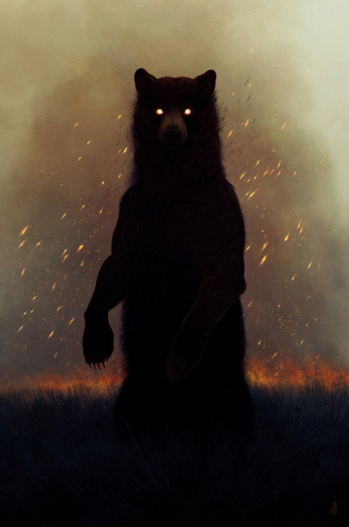 dessin d'ours