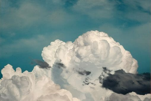 Ian Fisher, nuages bleus et noirs