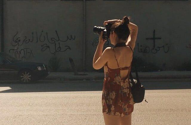 Lisa Miquet à Beyrouth
