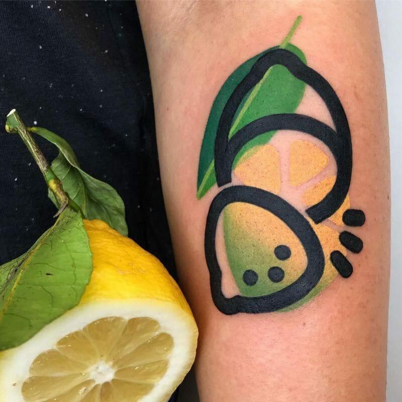 tatoo art fruit