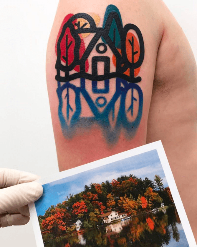 Mattia Mambo tatouage a partir de photo
