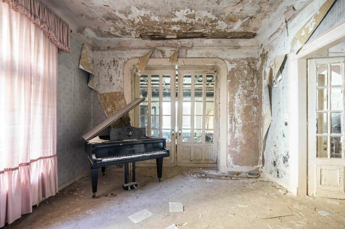 Photographie réalisée par Romain Thierry illustrant  un vieux abandonné