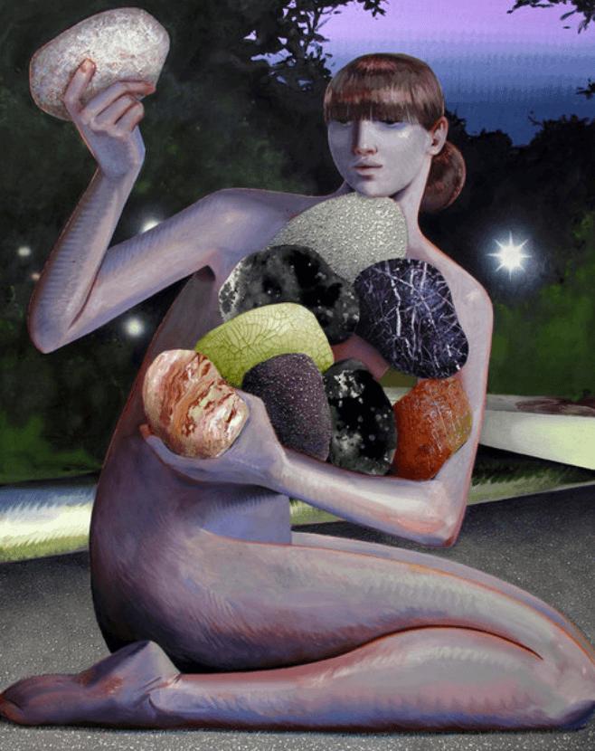 peintre Robin F Williams
