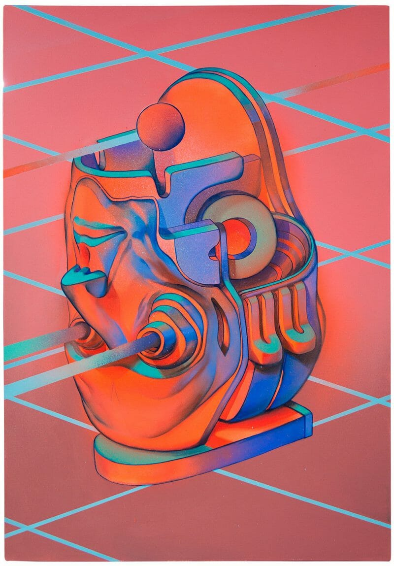 Smithe - UNAWARE 2 - Acrylic on Canvas, 2016