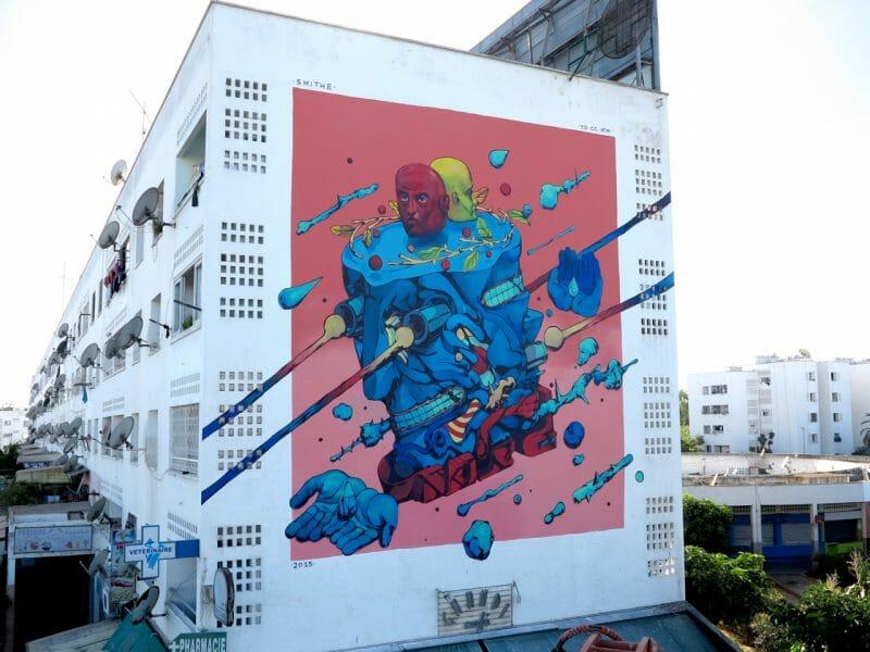 Smithe - knowledge box. / casablanca, Marruecos - 2015