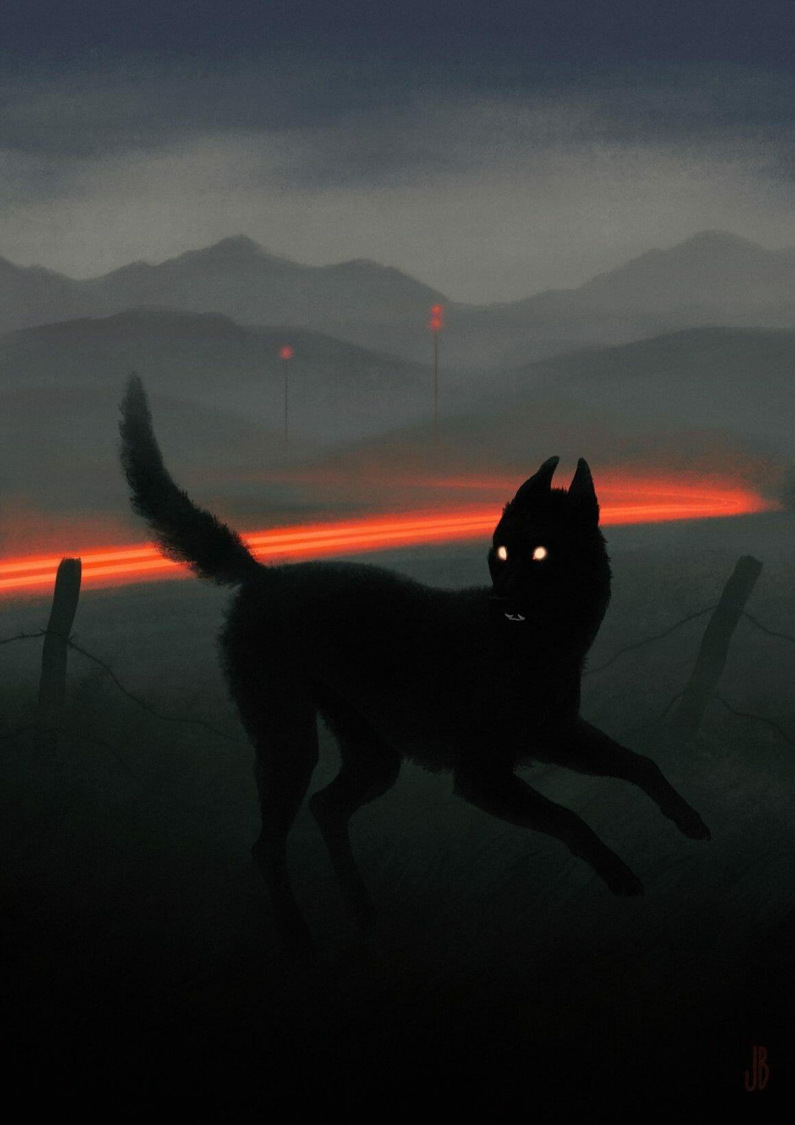 Jenna Barton illustration de chien