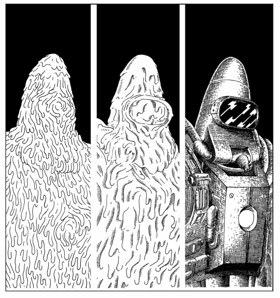 extrait de la BD cometa
