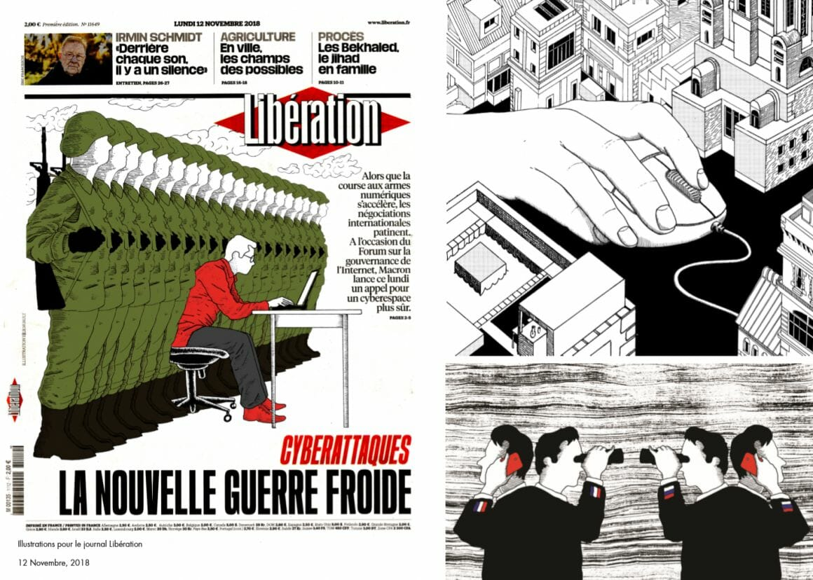 Elie Huault Libération