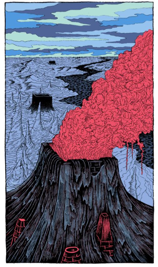 Elie Huault volcan