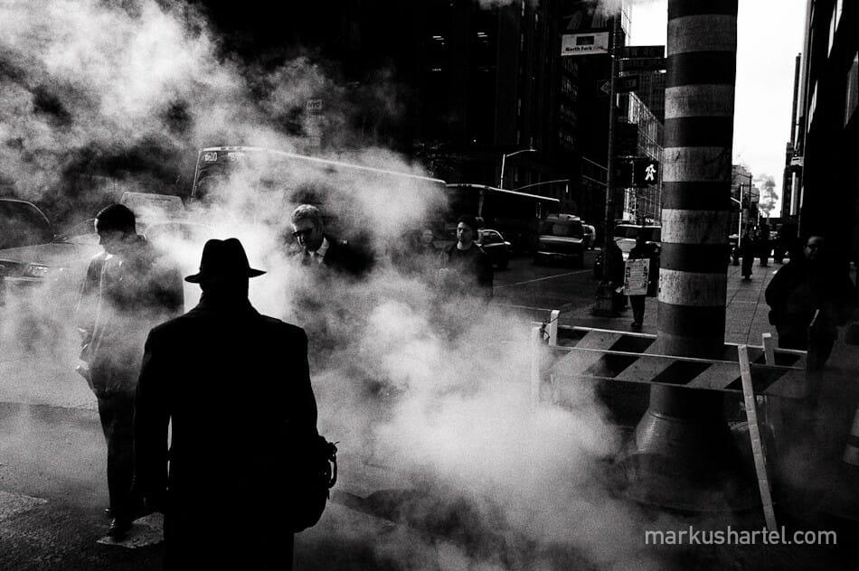 Marcus Hartel fumée