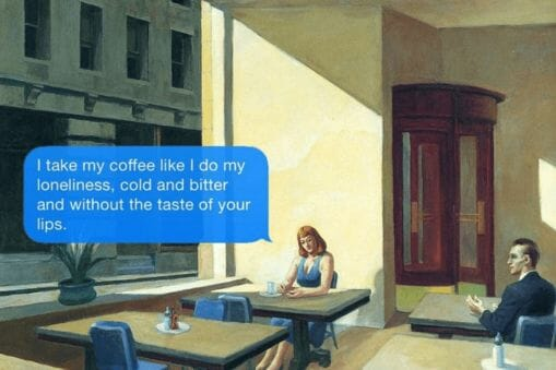 Texts from your existentialist hopper