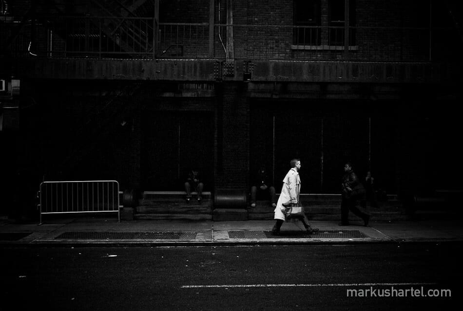 photo dans la rue