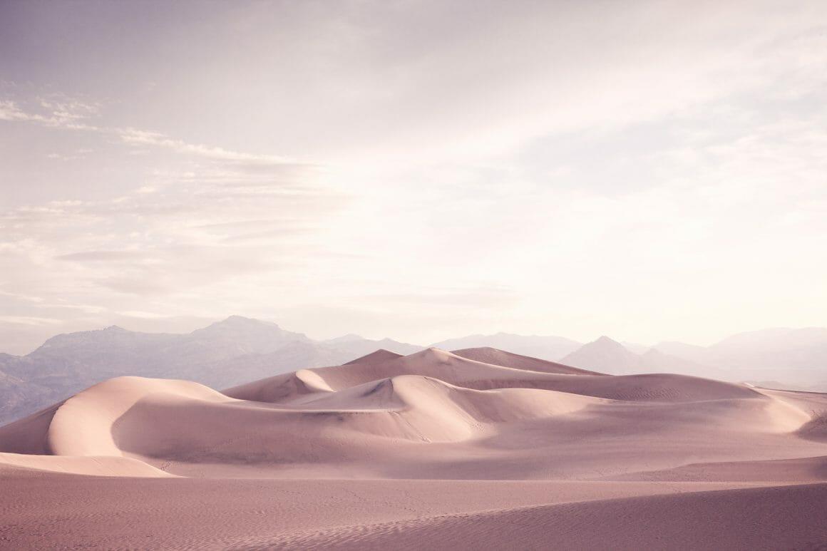 des dunes comme des pyramides
