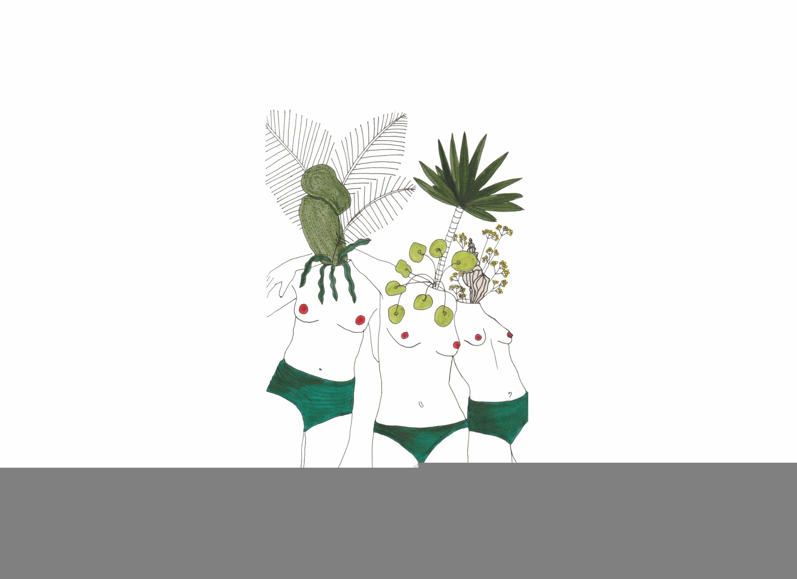 Les femmes plantes d'Alexia Caamano 1